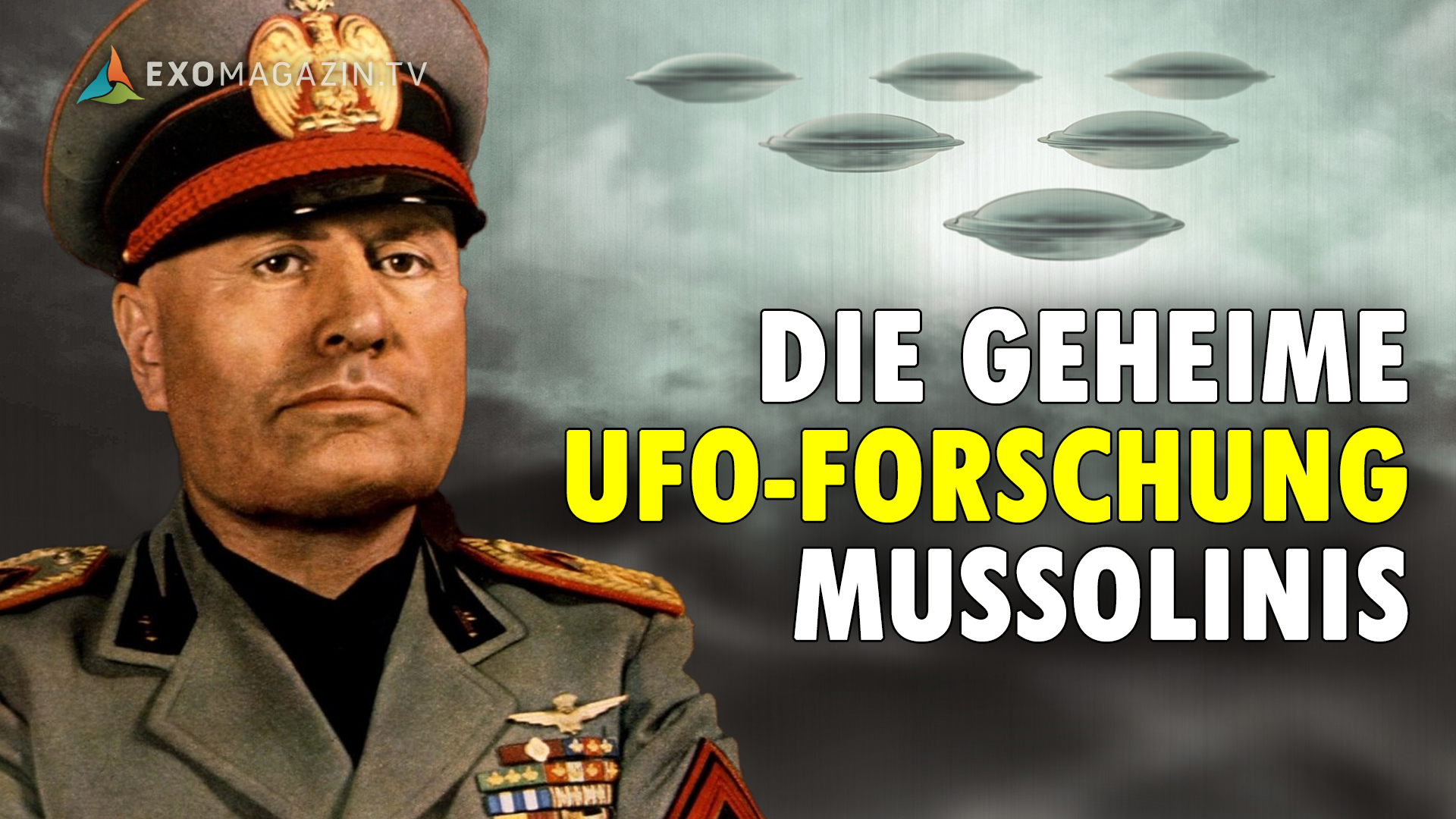 Roberto Pinotti-UFO-Mussolini